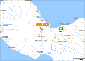 map of Wailuku