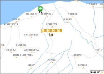 map of Waiongona