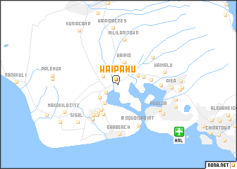 Waipahu United States Usa Map Nona Net