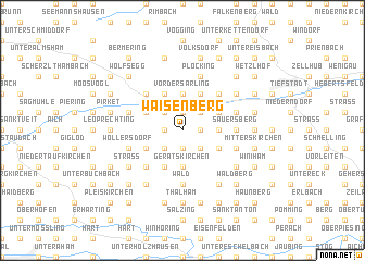 map of Waisenberg
