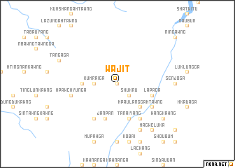 map of Wajit