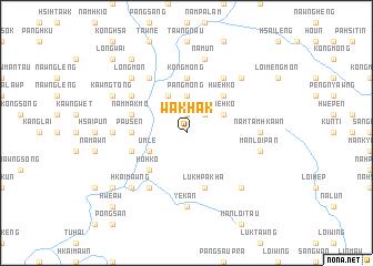 map of Wakhak