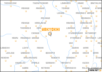 map of Wakyokhi