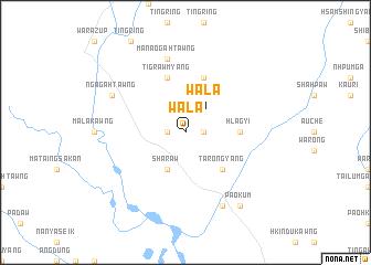 map of Wala