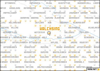 map of Walchsing