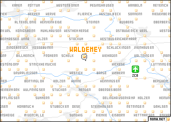 map of Waldemey