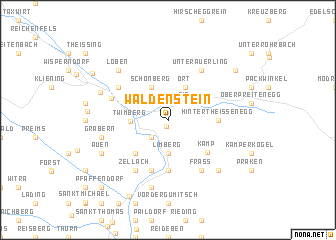 map of Waldenstein