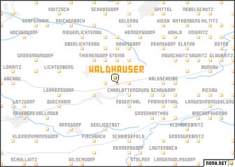 map of Waldhäuser