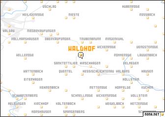 map of Waldhof