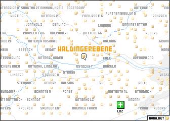 map of Waldinger-Ebene