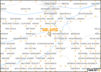 map of Walding