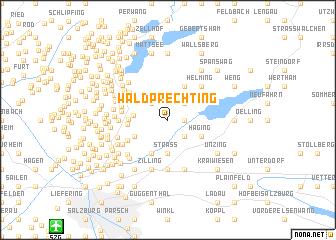 map of Waldprechting