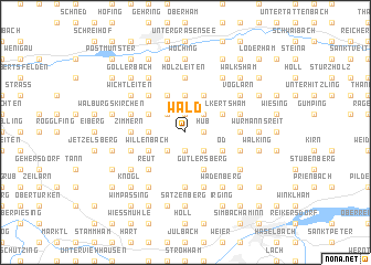 map of Wald