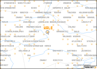 map of Wale
