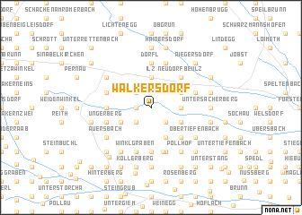 map of Walkersdorf