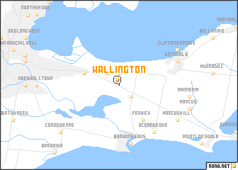 map of Wallington
