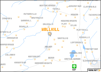 map of Wallkill