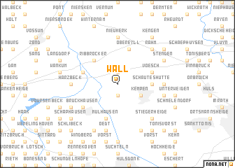 map of Wall
