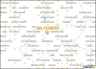 map of Waltenberg