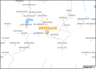 map of Wanasuka