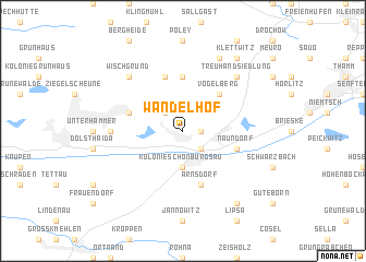 map of Wandelhof