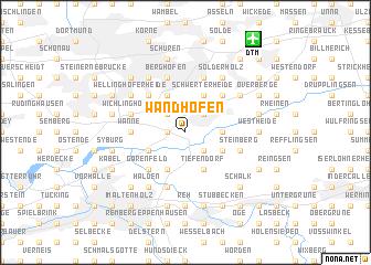 map of Wandhofen