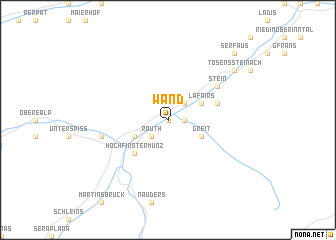 map of Wand