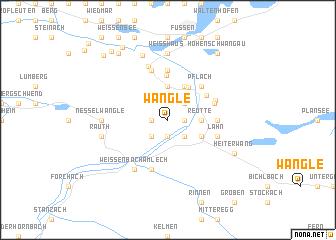 map of Wängle