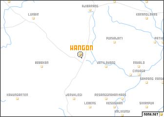 map of Wangon