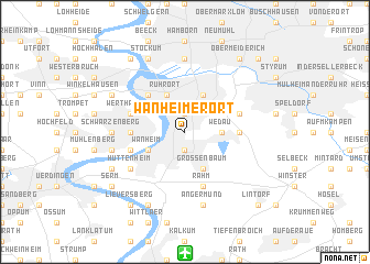 map of Wanheimerort