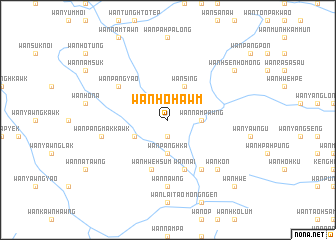 map of Wān Ho-hawm