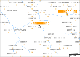 map of Wān Ho-nawng