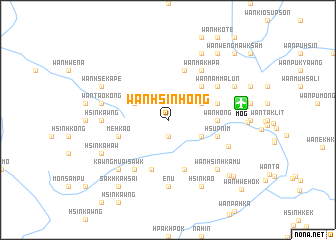 map of Wān Hsinhong