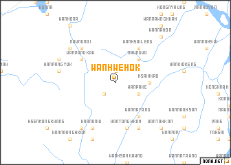 map of Wān Hwè-hok