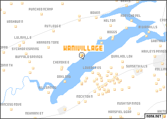 map of Wa-Ni Village