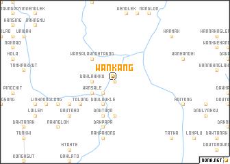 map of Wān Kang