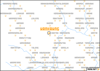 map of Wān Kawng