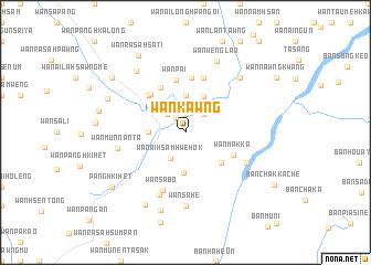 map of Wān Kawng