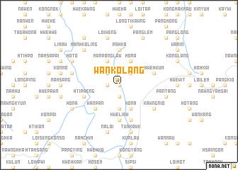 map of Wān Ko-lang