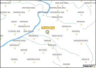 map of Wān Kon