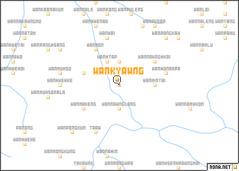 map of Wān Kyawng