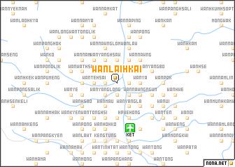 map of Wān Lai-hkai