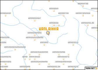 map of Wān Lai-hka