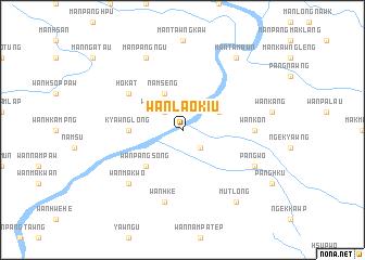 map of Wān Lao-kiu