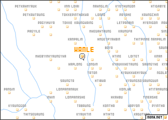 map of Wān Le