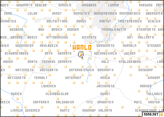 map of Wanlo