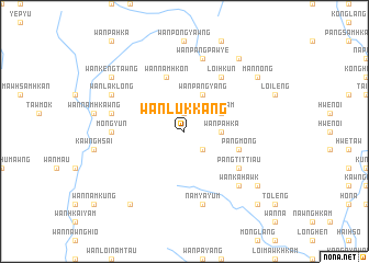 map of Wān Lukkang