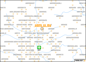map of Wān Lu-law