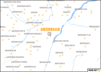 map of Wān Makka