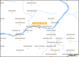 map of Wān Mākka